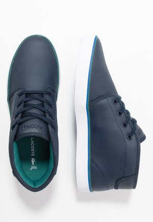 AMPTHILL  - High-top trainers - navy/green