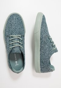 Lacoste - ESPARRE - Trainers - green/light green - 0
