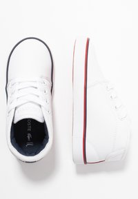 Lacoste - AMPTHILL  - High-top trainers - white/navy/red - 0