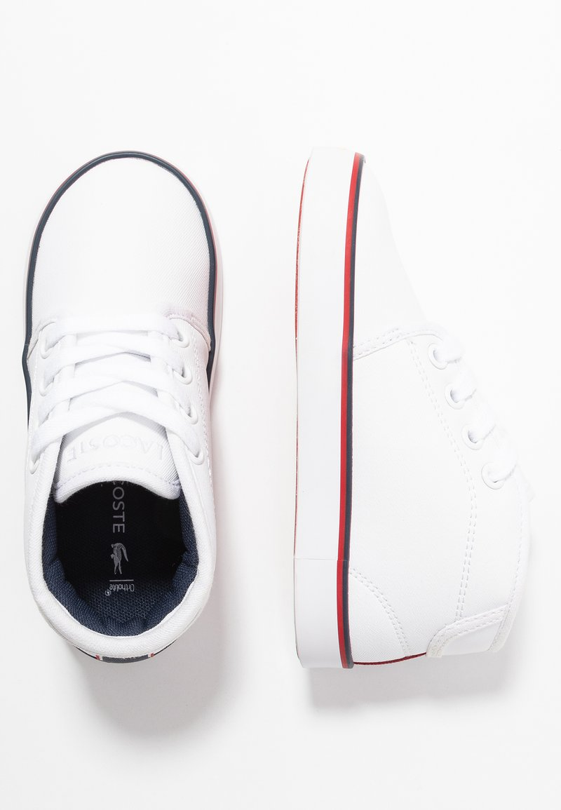 Lacoste - AMPTHILL  - High-top trainers - white/navy/red