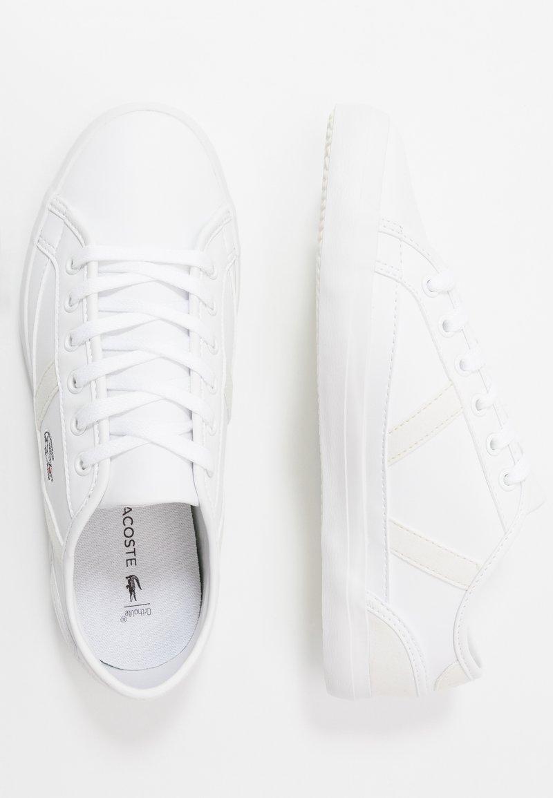 Lacoste - SIDELINE - Sneakersy niskie - white/offwhite
