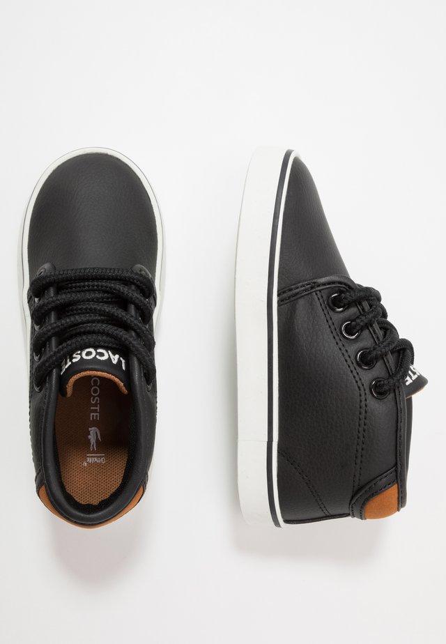 AMPTHILL  - Sneakers hoog - black/brown