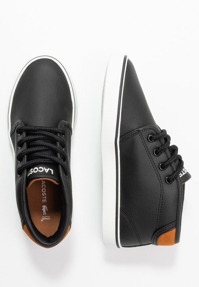 AMPTHILL - Sneakers high - black/brown