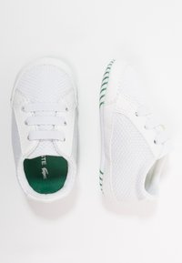 Lacoste - L.12.12 CRIB - Obuwie do raczkowania  - white/green - 0