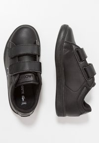 Lacoste - CARNABY EVO - Baby shoes - black - 0