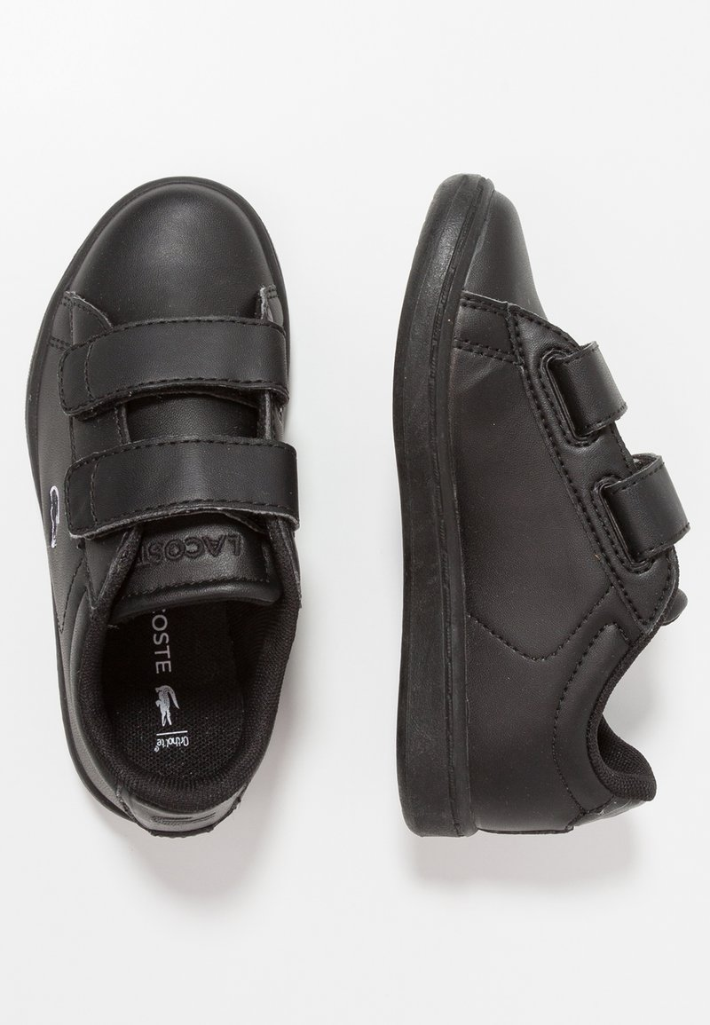 Lacoste - CARNABY EVO - Baby shoes - black