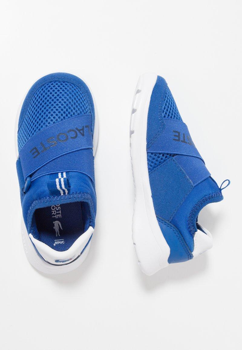Lacoste - LT DASH SLIP - Mocasines - blue/white