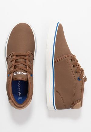 AMPTHILL THERMO - Sneakersy wysokie - brown/blue