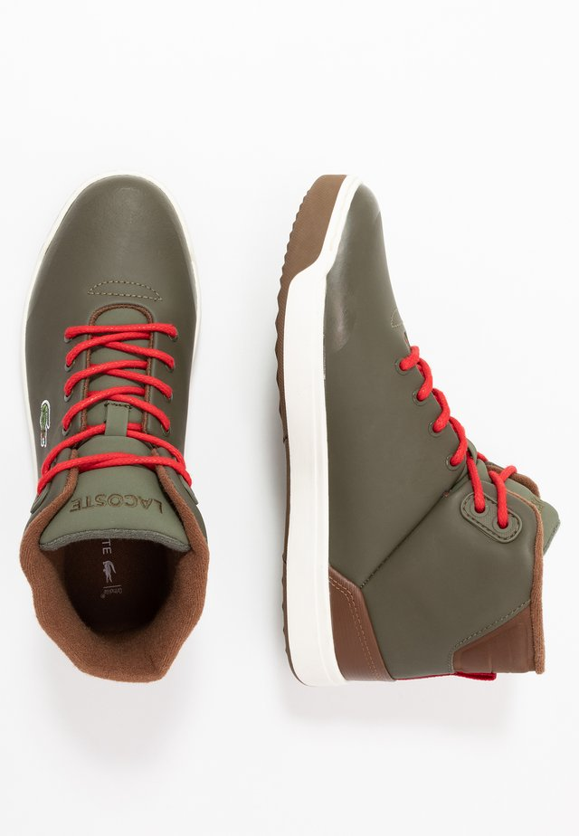EXPLORATEUR THERMO - Sneakers hoog - dark khaki/brown