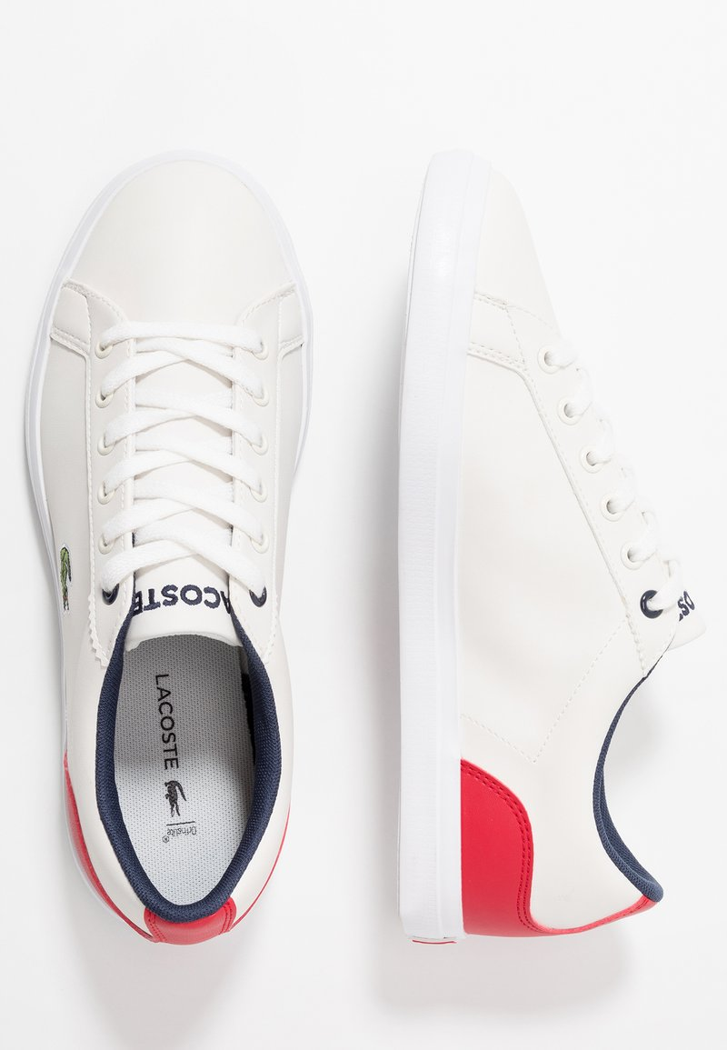 Lacoste - LEROND - Sneakers - offwhite/red
