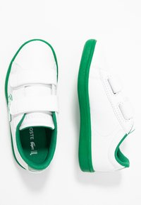 Lacoste - CARNABY EVO 319 - Zapatillas - white/green - 0