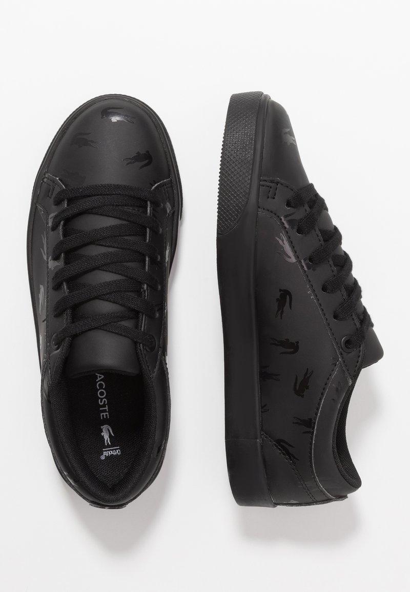 Lacoste - STRAIGHTSET - Sneaker low - black