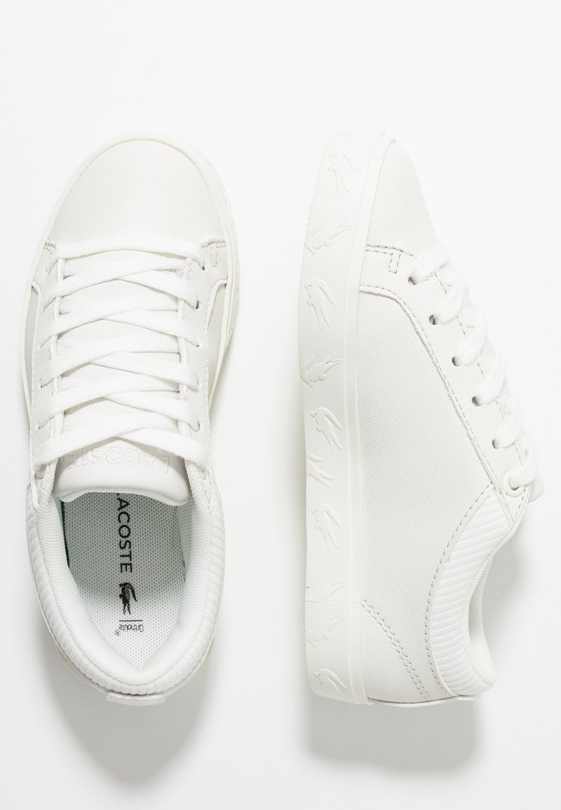Lacoste - STRAIGHTSET - Sneaker low - offwhite
