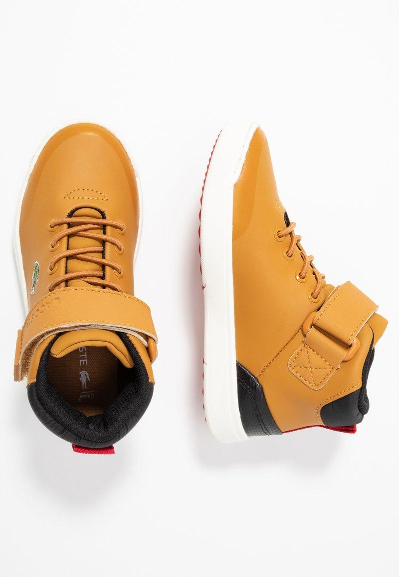 Lacoste - EXPLORATEUR CLASSIC - Sneakers high - tan/black