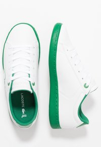Lacoste - CARNABY EVO - Tenisky - white/green - 0