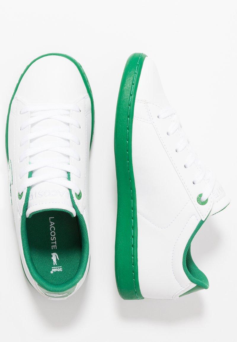 Lacoste - CARNABY EVO - Tenisky - white/green