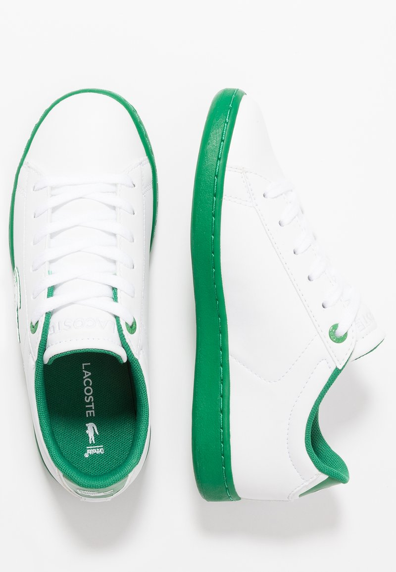 Lacoste - CARNABY EVO - Trainers - white/green