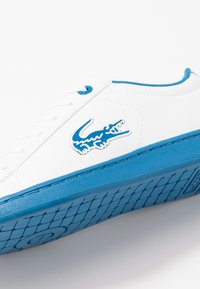 Lacoste - CARNABY EVO - Trainers - white/blue - 2