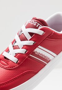 Lacoste - COURT-MASTER - Sneakers - red/white - 2