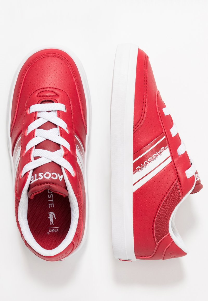 Lacoste - COURT-MASTER - Sneaker low - red/white