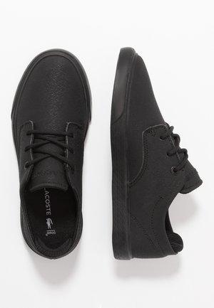 ESPARRE - Tenisky - black
