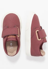 Lacoste - ESPARRE - Sneakers - dark red/offwhite - 0