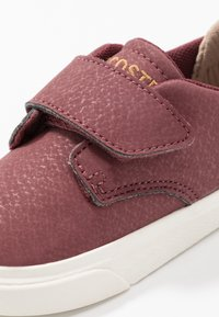 Lacoste - ESPARRE - Sneakers - dark red/offwhite - 2