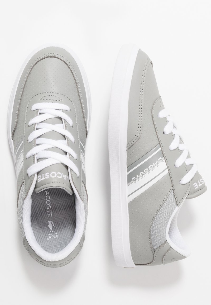 Lacoste - COURT MASTER - Sneaker low - grey/white