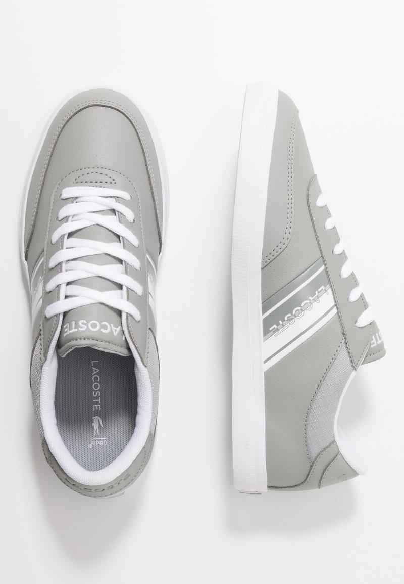 Lacoste - COURT MASTER - Sneakersy niskie - grey/white