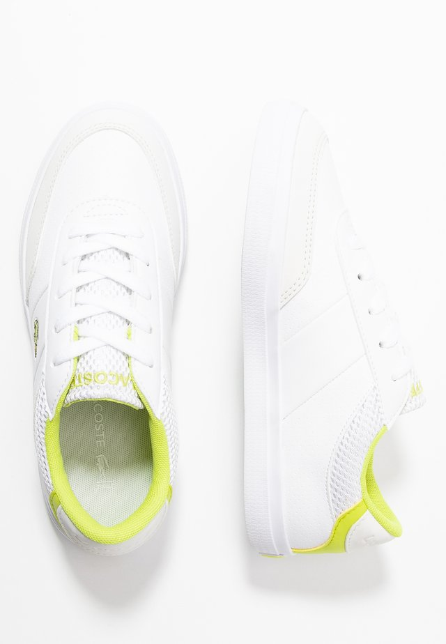 COURT MASTER  - Sneakers laag - white/yellow
