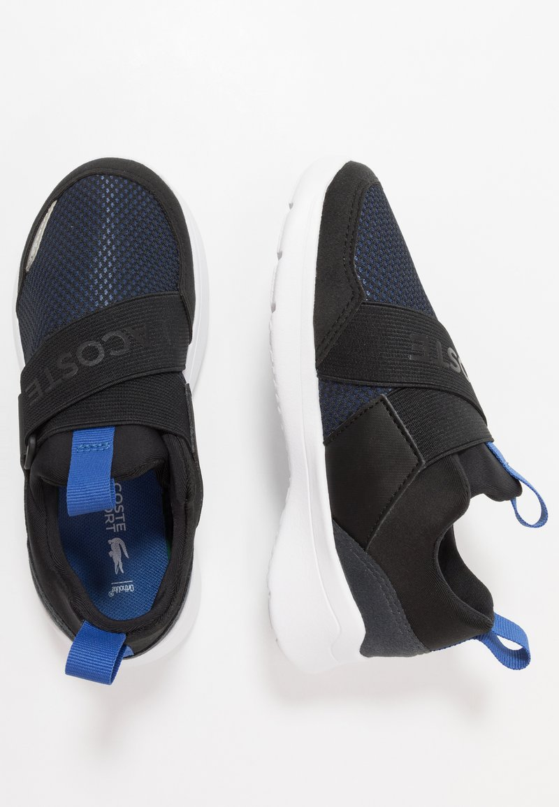 Lacoste - DASH 120 - Instappers - black/blue