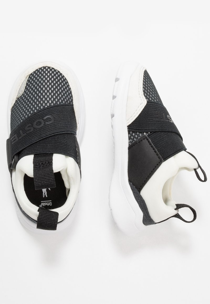 Lacoste - DASH 120 - Slip-ons - offwhite/black