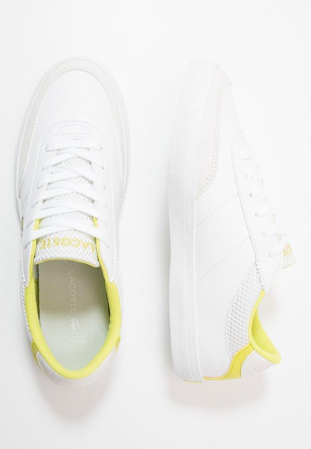 COURT-MASTER - Trainers - white/yellow