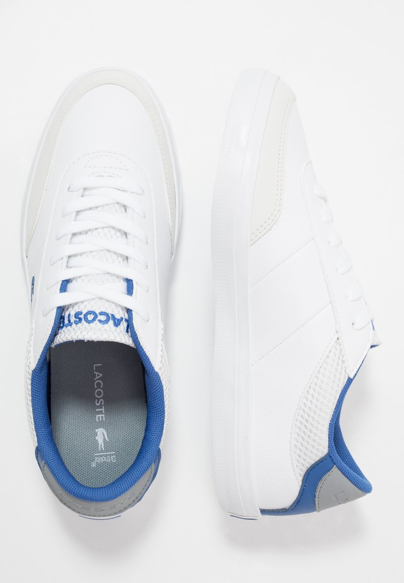 Lacoste - COURT-MASTER - Trainers - white/blue