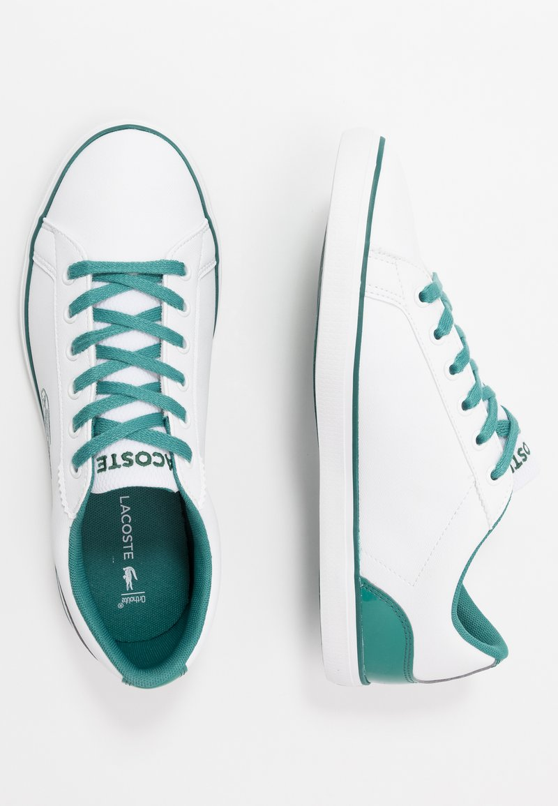 Lacoste - LEROND - Sneakers basse - white/green