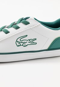 Lacoste - LEROND - Slip-ons - white/green - 2