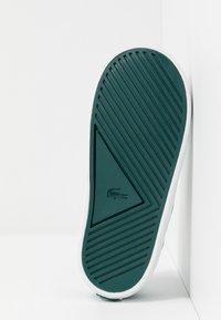Lacoste - LEROND - Slip-ons - white/green - 5