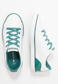 Lacoste - LEROND - Trainers - white/green - 0