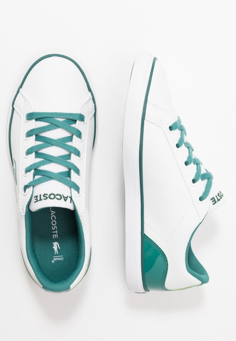 Lacoste - LEROND - Trainers - white/green