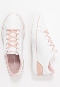 Lacoste - LEROND - Trainers - white/nature - 0