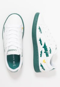 Lacoste - CARNABY EVO 120 - Sneakers laag - white/green - 0