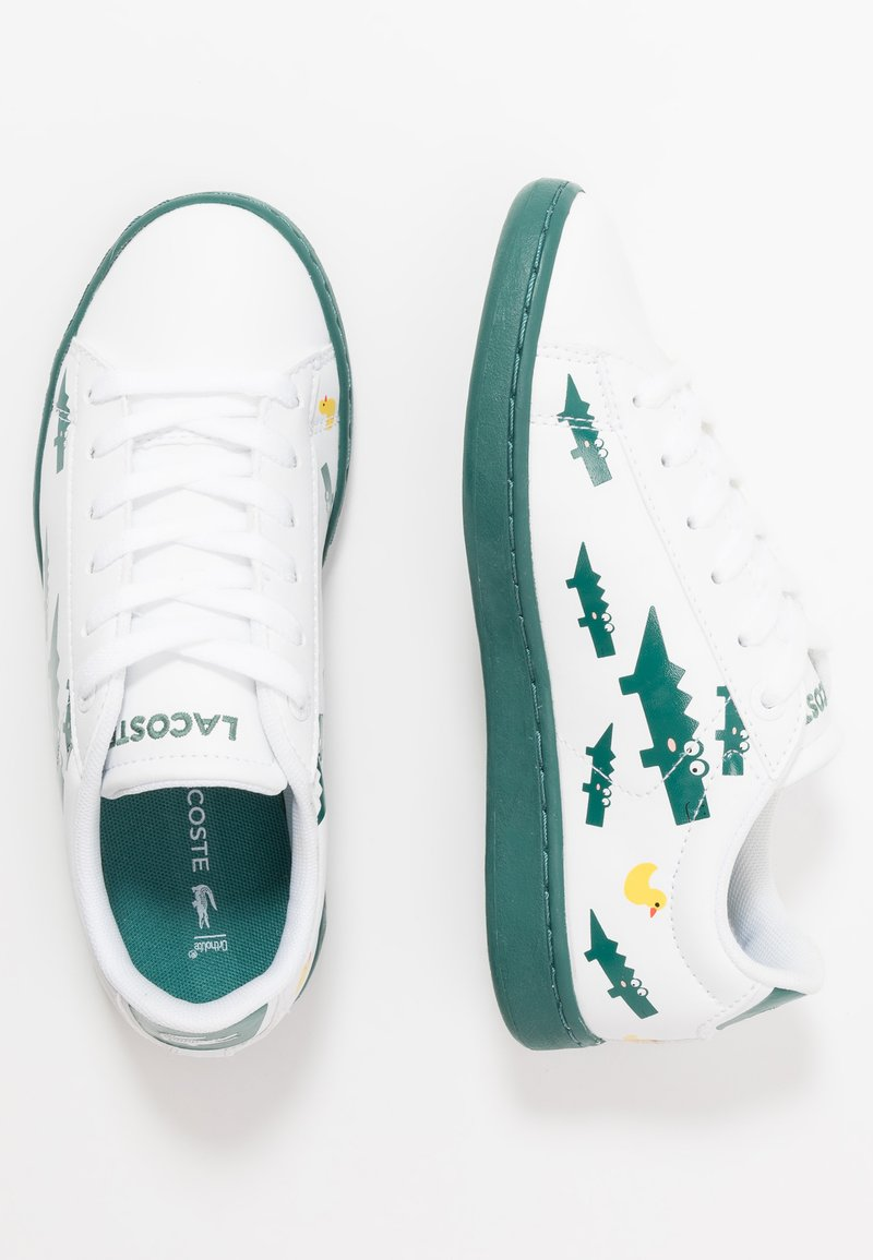 Lacoste - CARNABY EVO 120 - Sneakers laag - white/green