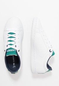 Lacoste - CARNABY EVO 120 - Zapatillas - white/green - 0