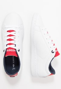 Lacoste - CARNABY EVO 120 - Trainers - white/red - 0