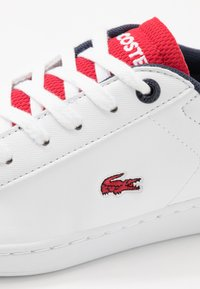 Lacoste - CARNABY EVO 120 - Trainers - white/red - 2