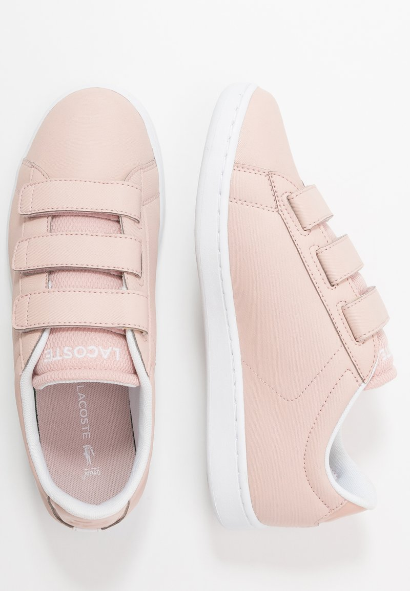Lacoste - CARNABY EVO - Trainers - natural/white