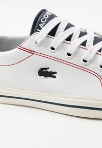 Lacoste - RIBERAC - Sneakers laag - white/navy/red