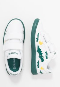 Lacoste - CARNABY EVO - Trainers - white/green - 0