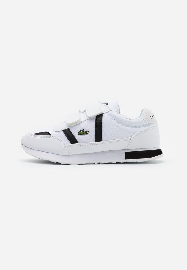 PARTNER  - Sneakers laag - white/black