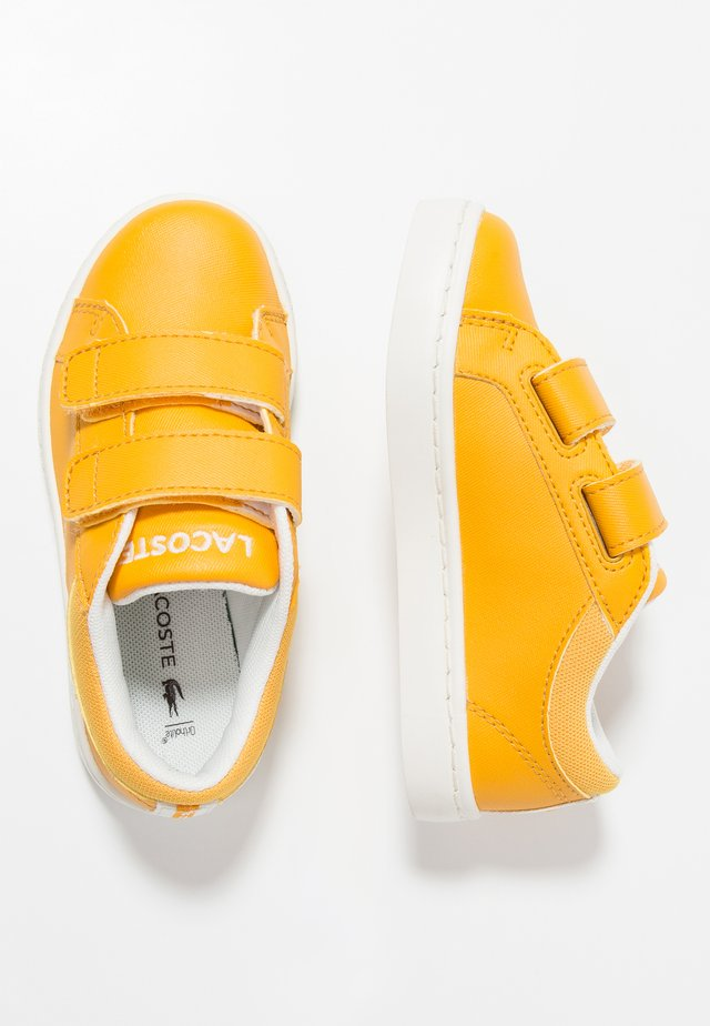 STRAIGHTSET - Sneakers laag - yellow/offwhite